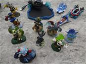 ACTIVISION SKYLANDERS PACK, PORTAL OF POWER WITH 9 FIGURES AND 3 VEHICLES